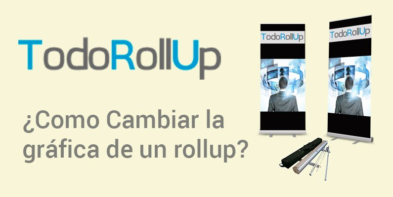 Cambiar la gráfica de un roll up