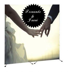 comprar photocall para bodas