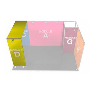 Modulo D (950x2550x2600cm)